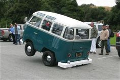 1958 VW Short Bus - not a bug but just as cute as a bug!