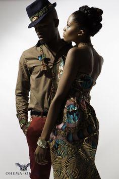 Ohema Ohene! African Fashion men and women
