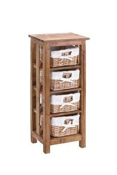 Basket dresser, perfect for bathroom accessories, crafts, kid toys...