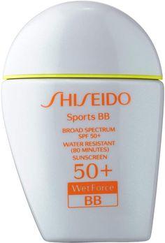 Shiseido Sports BB Broad Spectrum SPF 50+ WetForce #Over30SkinCareRoutine Best Sunscreens, Uneven Skin