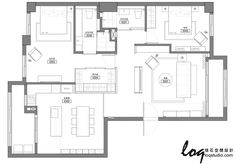 新竹 32 坪 Loft 風新婚公寓 - DECOmyplace