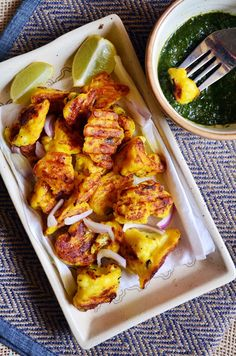 easy gobi tikka,quick and delicious snack!  Recipe @ http://cookclickndevour.com/easy-gobi-tikka-recipe  #cookclickndevour #recipeoftheday #snackideas