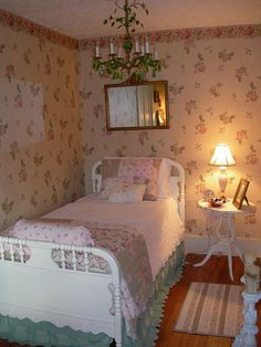 SHABBY CHIC BEDROOM by sevets15
