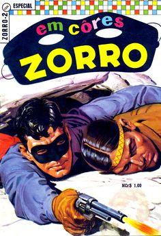 Zorro  Brazilian EBAL edition  Magazine cover