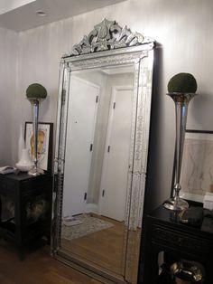 Floor Length Venetian Mirror Shut Up