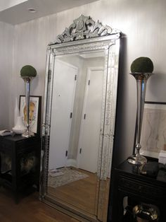 Floor length venetian mirror? Shut up