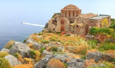 Church of Agia Sofia on Monemvasia island © Inu / Shutterstock Lonely Planet, Destinations, Greece Holiday, Europe, Acropolis, Chapelle, Ancient Greece, Greece Travel, Monument Valley