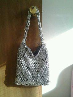 Soda tab purse, pop top handbag
