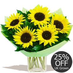 Flowers by Season Autumn Sunflowers - Mellow Yellow Fall Flowers, Fresh Flowers, Beautiful Flowers, Sunflower Bouquets, Yellow Sunflower, Gifts Delivered, Flowers Delivered, Flower Fashion, Mellow Yellow