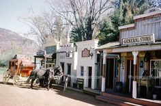 Old Western General Store | Old Time Western Town, Stage Coach, General Store Images, Photography ...