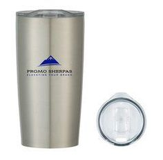 20oz Sherpa Tumbler - Best coffee mug on the market!  Keeps drinks hot/cold as long as a Yeti!  $9.99 with your logo!  When you need custom mugs, let the Promo Sherpas help you!