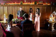 Weddings ceremony's in Belleek candles intimate