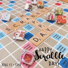 Ohhh deer! These darling tiny handcrafted Scrabble Tile brooches may cause squeals of delight and joy. Wear happy. 😊 Happy Scrabble Day!