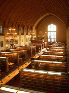 Cornell Law School Library.  Why can't USC Law's library look like this?!