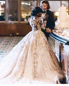 Modern Western/Nigerian Wedding..... Gorgeous  #LoveCrossesBorders