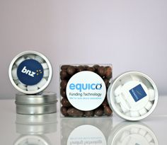 branded aluminum tins filled with mini mints Tins, Education, Sweet, Educational Illustrations, Learning, Studying