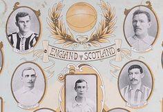 England V Scotland 1899 Football International Lithographic Poster | Posters | Football Memorabilia