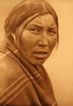 Cree Woman, Edward S. Curtis