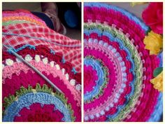 A fantastic crocheted cloth by Haken en meer. Someday I will be able to make this... I hope...