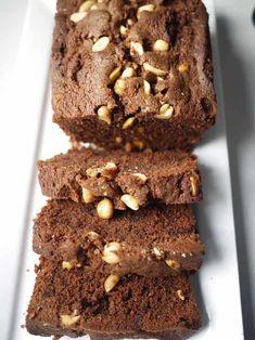 Salted Chocolate & Peanut Butter Loaf via Pudding Recipes, Cake Recipes, Snack Recipes, Dessert Recipes, Snacks, Bread Recipes, Salted Chocolate, Chocolate Peanut Butter, Chocolate Heaven
