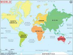 46 Best World Maps images