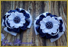 Fast And Easy Projects - How to Make Hair Clips? Diy And Crafts, Crafts For Kids, Girls Bows, How To Make Hair, Easy Projects, Hair Bows, Hair Clips, Headbands, Ribbon