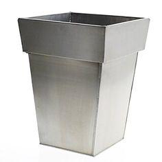 """Manu Vase 12""""x16"""" Aluminium Planter #planter #vase #aluminium"""
