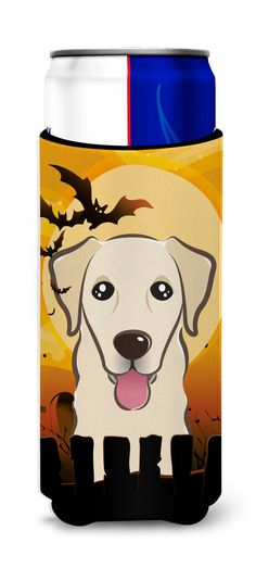 Halloween Golden Retriever Ultra Beverage Insulators for slim cans BB1810MUK