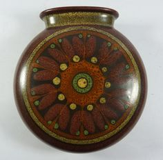 Retro KMK Manuell German Sudio Pottery Wall Hanging Vase