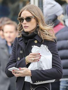 The Olivia Palermo Lookbook : Olivia Palermo and Johannes Huebl in New York.