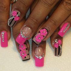 manicure gel nail art 2018