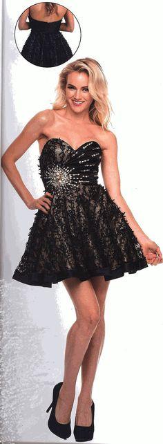 Prom Dresses<BR>Evening Dresses under $100<BR> 1224 <BR> Graceful Lace!