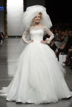Lace Sleeve Wedding Dress :: Fashion Week 2012 Bridal Collection
