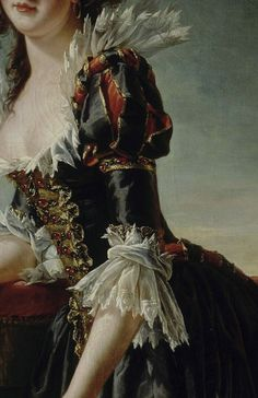 Detail of Madame Louise-Elisabeth with her Two-Year old Son, by Adélaïde Labille-Guiard, 1787 Renaissance Paintings, Renaissance Art, Moda Medieval, 18th Century Fashion, 17th Century, 18th Century Dress, Old Paintings, Classical Art, Detail Art
