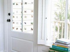 Kids' Craft: Butterfly Window Garland