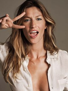 Gisele, the one and only. Oh yes. I love her, she is gorgeous. Heather