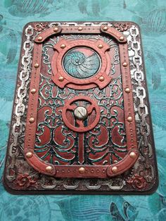 Notebook cover Nautilus