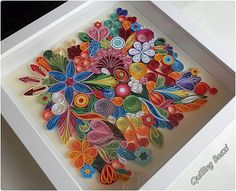 Quilling. A beautiful bold statement peice for a bare patch on the wall. Re-Pinned by The Cheap Shop, Tiptree