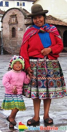 A Bolivia mom and her daughter