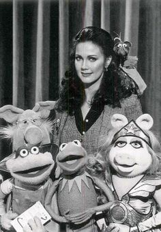 Lynda Carter and the Muppets