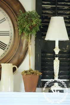 6 WAYS TO CREATE FARMHOUSE CHARM-shutters-stonegableblog.com