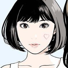 江口寿史 EGUCHI HISASHIさんはInstagramを利用しています:「From this July. In Kichijoji sun road. Jun.2017 #illustlation #artwork #manga #bandedessinee #comicart」