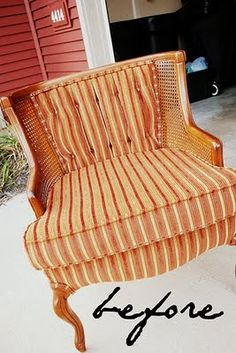 """Chair """"before"""" makeover"""