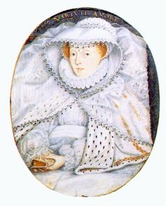 This portrait of an unknown but noble lady. The ermine cape would only have been worn by a member of the high nobility