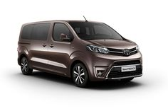 The Toyota Proace, Peugeot Traveller and Citroen Spacetourer van-based MPVs share the same platform but differ in looks