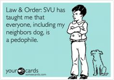 I LOVE Law and Order SVU!