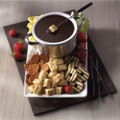 Chocolate Touchdown Fondue
