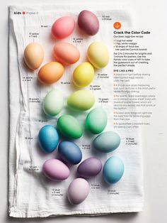 ehm Newsletter: Easter Egg Dying with Sarah Cave for Parents Magazine