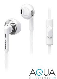 Philips SHE3205WT/00 mikrofonos fülhallgató fehér