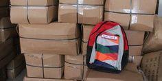 Todo listo para la entrega de mochilas con útiles en Puerto Vallarta